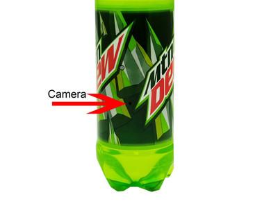 Omni Soda Bottle Hidden Camera