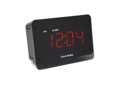 Zone Shield Night Vision 4K Clock Radio DVR