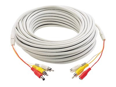 66-Foot Dual RCA and DC All-in-One Cable