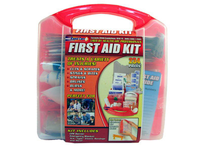 234 Piece Medical First Aid Kit