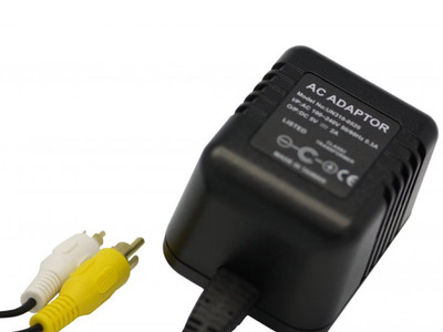 LawMate AC Adapter DVR Video Recorder