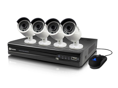 Swann 8CH 1080p NVR with 3MP IP Security Cameras