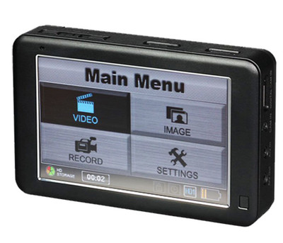 Professional Touch Screen HD Handheld DVR by LawMate