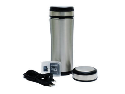 Coffee Thermos Hidden Camera