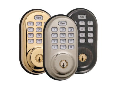 Yale Z-Wave Deadbolt With Push Button Pad