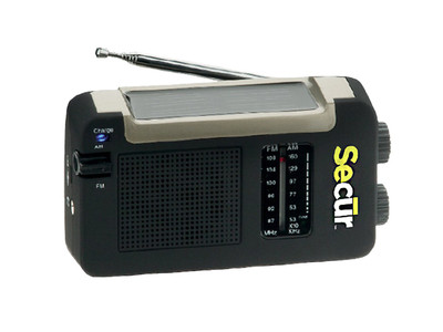 Secur SP-2001 Hybrid Power Radio