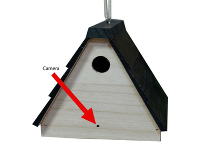 Birdhouse Outdoor Hidden Camera