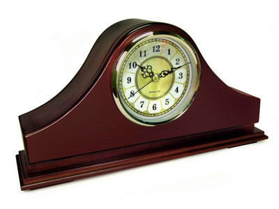 Mantle Clock Gun Concealment Safe