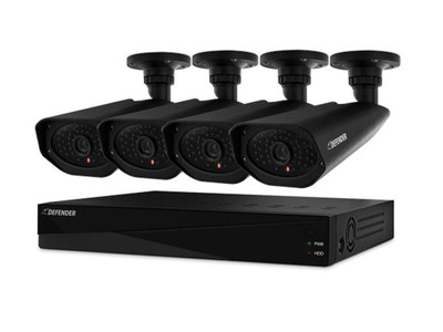 Defender Pro Widescreen Security DVR Kit