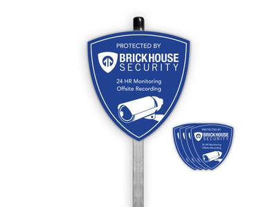 BrickHouse Camera Yard Sign Package