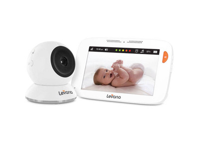 """Alexa 5"""" Video Baby Monitor with Fixed Camera"""