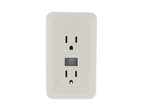 1080p Electrical Outlet Hidden Camera