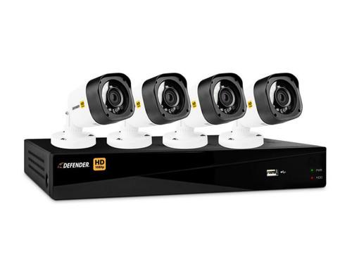 Hidden indoor security cameras indoor surveillance cameras defender 4 channel dvr featuring 4 bullet cameras freerunsca Choice Image
