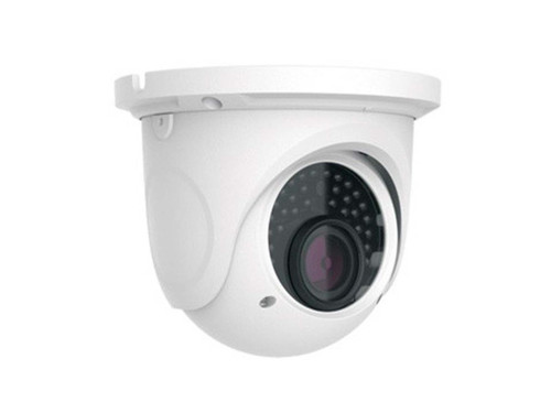 Never Miss a Beat of What Happens on Your Property  The 1080p Network IP Infrared Camera is a high-quality HD weatherproof security camera that captures clear and detailed footage outside in a variety of weather conditions. It features 30 IR LEDs which provide it with night vision up to 98 feet, even in complete darkness. It also features a wide dynamic range for clear imaging. Efficient heat dissipation ensures that this camera is equipped for a long lifespan. The camera supports PoE and DC12V power supplies.  Most Network Video Recorders (NVRs) can support this camera, making it a great addition for an existing IP network. Use this camera to remotely monitor your property in real-time using the free app for your smartphone, tablet, or iPad. The camera is easy to set up with a P2P connection.