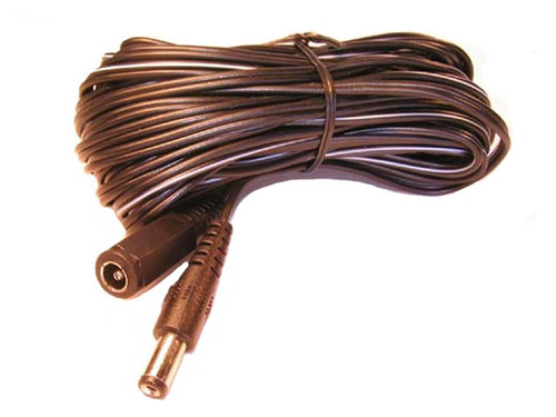 100 Ft. DC extension cable plug/jack for power supply.