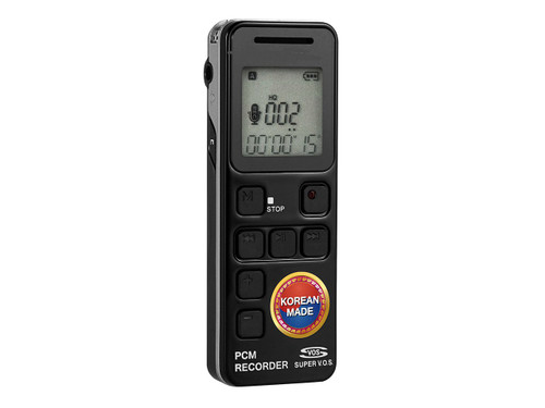 Save Important Conversations The 1040 Hour Voice Recorder provides unprecedented battery life and storage time compared to other phone recorders on the market. With three recording modes: open air, telephone, or cell phone recording, you're sure to preserve crucial information. Perfect for journalists, students, or quality assurance purposes, this voice recorder makes it easy to store and sort your data. With 8GB of internal memory, this device can record 1040 hours of audio, which adds up to about 45 days! Unlike other recorders that rely on battery-draining standby modes when not in use, this recorder only powers on when your phone is an active line and shuts off when you hang up. As a result, this device can last for 31 days on a single charge. Its simple interface makes recording as painless as possible, and password protection guards your information. No matter how you choose to use the 1040 Hour Voice Recorder, you're guaranteed a best-in-class experience at a fraction of the pr