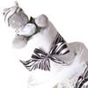 3 Tier Safari Zebra Nappy Cake