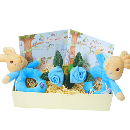 Twins Peter Rabbit Rattle Gift Set