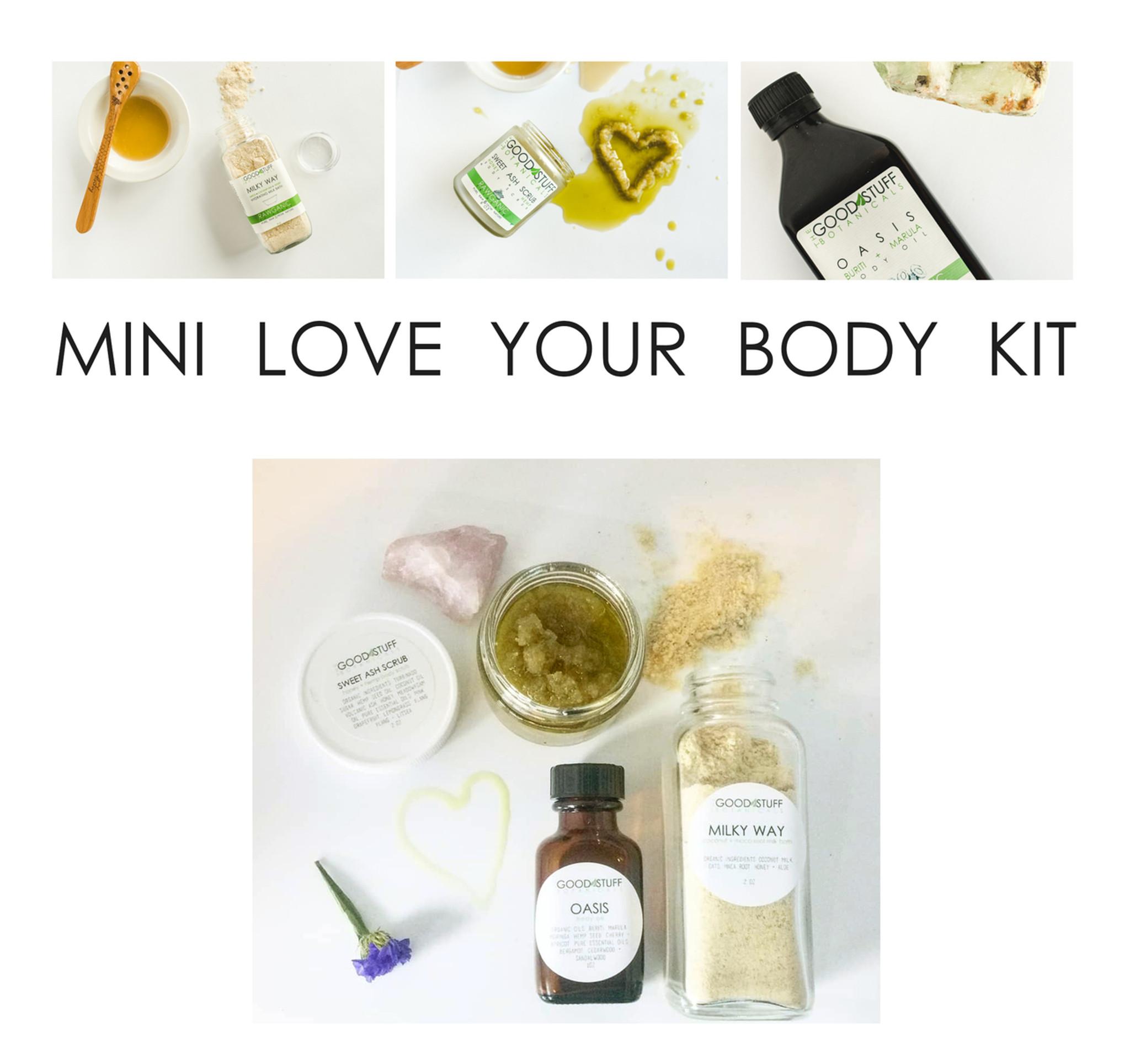 Travel Size Body Care Kit