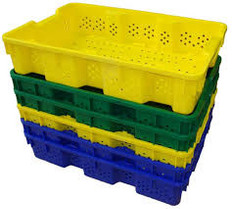 Small Vented Agricultural Container Tote (1 Pallet = Qty 200)