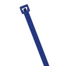 "Metal Detectable 15"" Cable Ties in Blue"