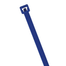 "Metal Detectable 15"" Cable Ties in Blue"