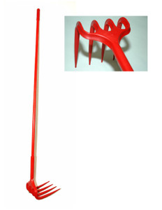 "Unirake Grape Rake with 60"" Handle"
