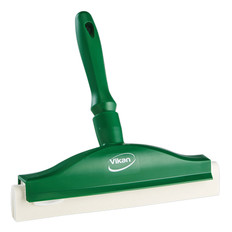 """10"""" Foam Bench Squeegee in Green (Front View)"""