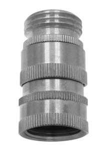 "Stainless Steel Quick Disconnect 3/4"" GHT"