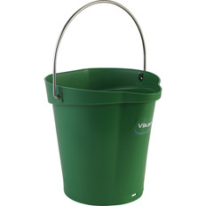 Vikan 1.5 Gallon Bucket/Pail in Green