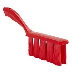 Medium Bristle UST Bench Brush in Red
