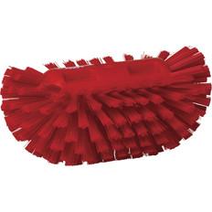 Vikan Stiff Tank Brush in Red (Side View)