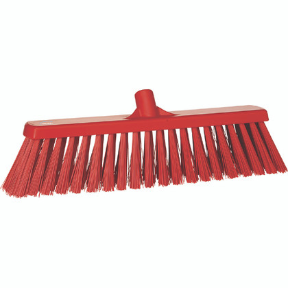 20 Quot Wide Heavy Duty Push Broom W 60 Quot Polypro Handle