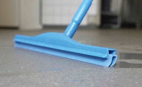 """24"""" Double Blade Squeegee with 60"""" Alum Handle"""