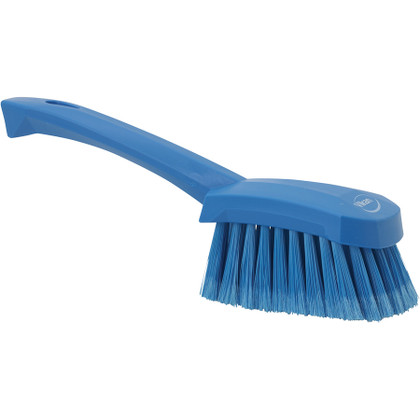 Vikan Short Handle Washing Brush - Extra Soft (Side View)
