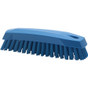 Small Hand Brush Soft Bristles in Blue (Side View)