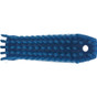 Small Hand Brush Soft Bristles in Blue (Bottom View)