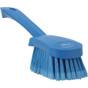 Vikan Short Handle Washing Brush - Extra Soft (Angle View)