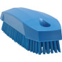 Small Hand and Nail Brush in Blue (Front View)