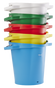 Vikan 5 Gallon Bucket/Pail in multiple colors and stackable