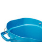 Vikan 5 Gallon Bucket/Pail in Blue (Inside View)