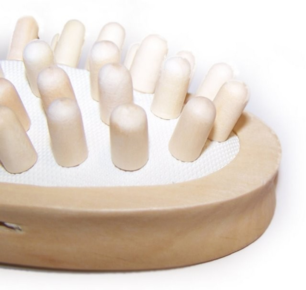 Wooden Nodule Cellulite Massager