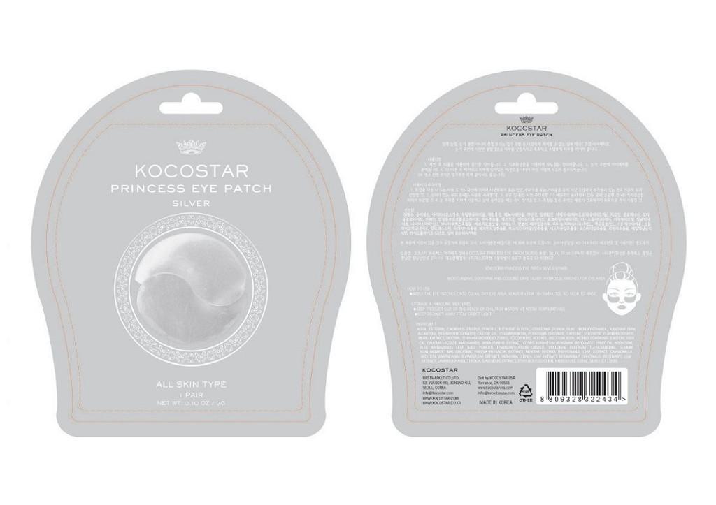 Kocostar Princess Silver Under Eye Patch - Single Pair