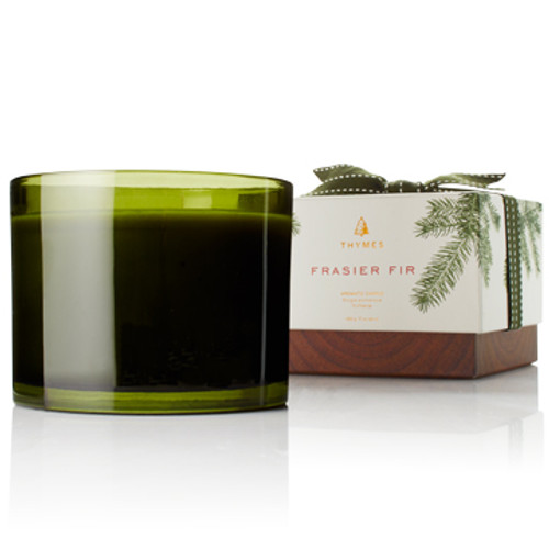 The aromatic snap of Siberian Fir needles, heartening cedarwood and earthy sandalwood combine to create a just-cut forest fragrance that evokes warmth and comfort.