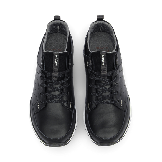 Black TRUE Outsider full shoe dual pair top down