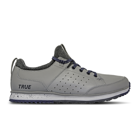 Grey Navy TRUE Outsider full shoe side view