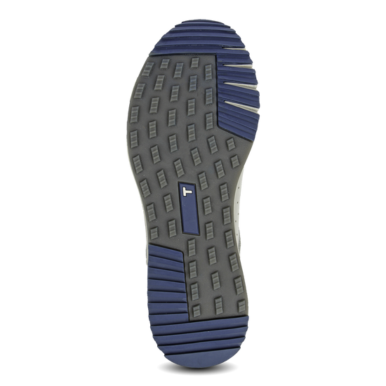 Grey Navy TRUE Outsider full shoe grey rubber outsole