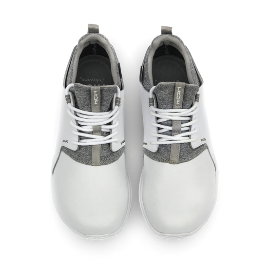 White TRUE Original full shoe dual pair top down