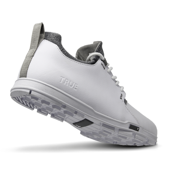 White TRUE Original full shoe heel flex