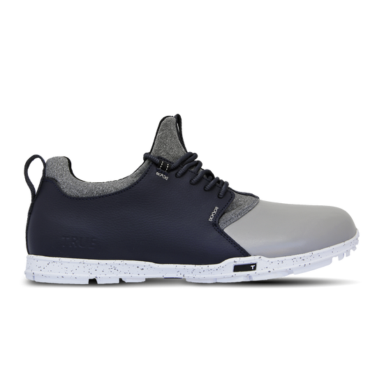 Grey Navy TRUE Original full shoe side view